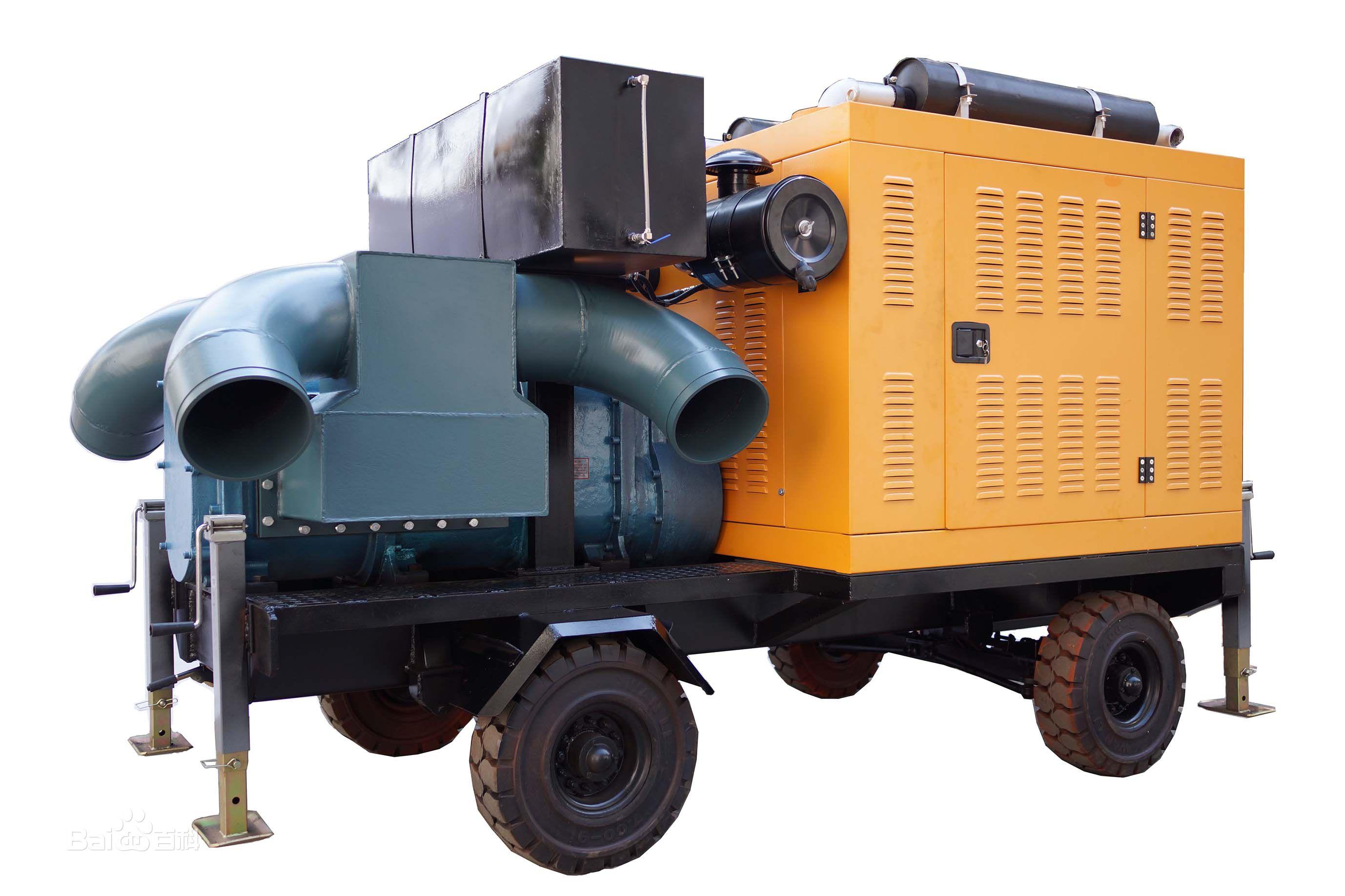 牵引式移动泵车