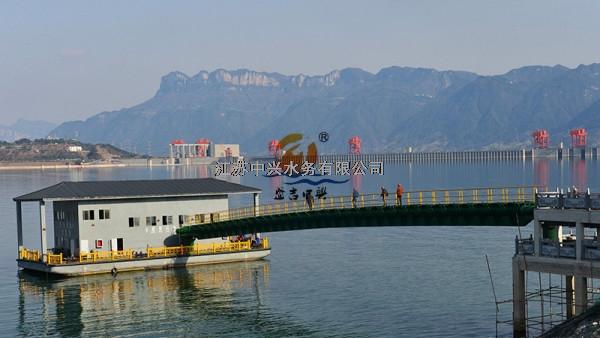 凤凰山饮用水源地保护-取水泵船